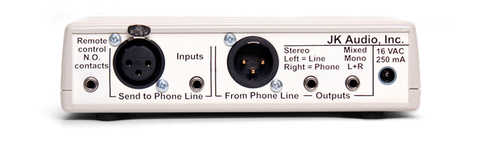 JK Audio Inline Patch Back