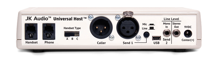 JK Audio Universal Host Back