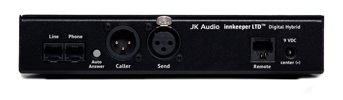 JK Audio innkeeper LTD Back