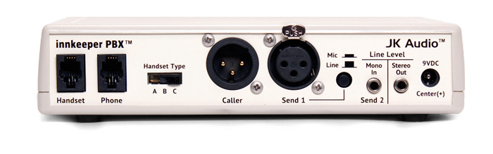 JK Audio innkeeper PBX Back