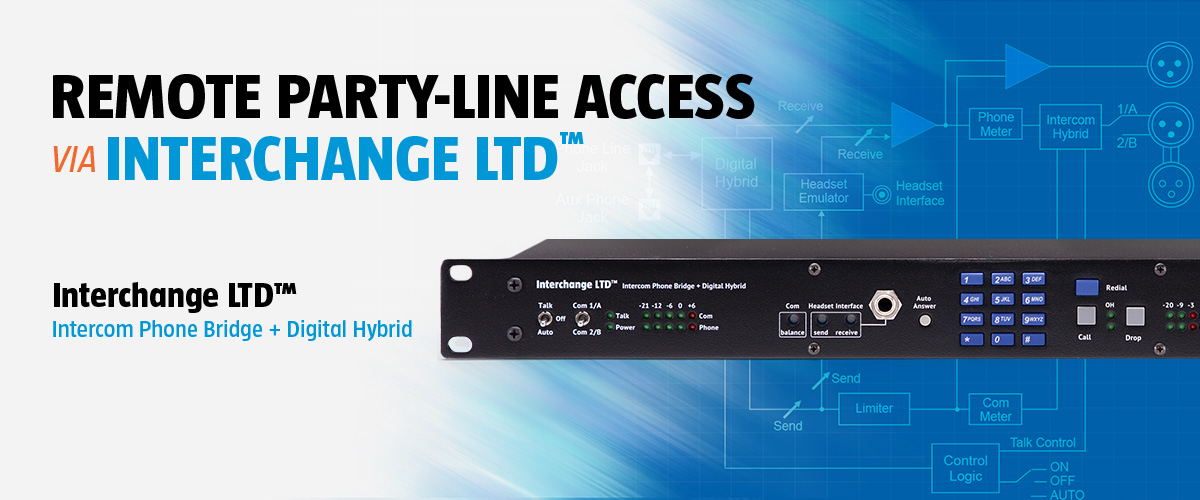 Remote Party-Line Access